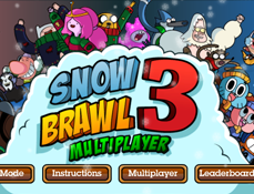 Snowbrawl Fight 3: Multiplayer