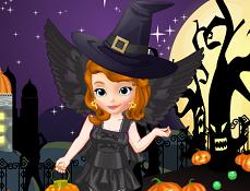 Sofia Intai Pregatiri de Halloween