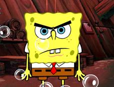 SpongeBob Sparge Bulele de Aer