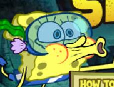 Spongebob si Monstrul de Mare Smoosh