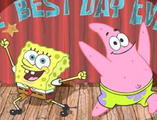 Spongebob si Patrick in Cea Mai Buna Zi