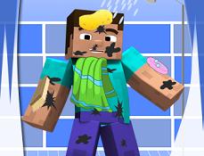 Steve din Minecraft de Spalat