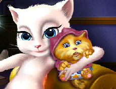 Talking Angela si Nou-Nascutul