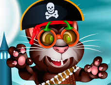 Talking Tom si Costumele de Halloween