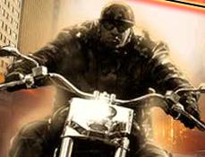 Terminatorul pe Motocicleta