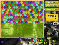 Testoasele Ninja Bubble