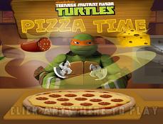 Testoasele Ninja Gatesc Pizza
