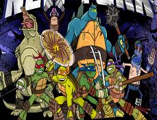Testoasele Ninja Lupta pentru New York