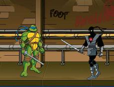 Testoasele Ninja Salveaza Maestrul