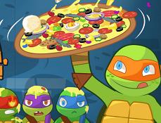 Testoasele Ninja la Pizza