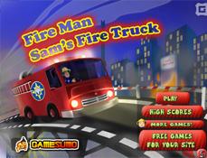 Transporta cu Masina de Pompieri a lui Sam