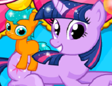 Twilight Sparkle are Gemeni