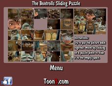 Puzzle Cu Trolii Din Cutii