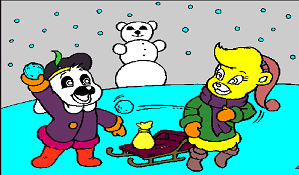 Aventurile Ursilor Gummi Iarna