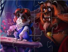 Puzzle Cu Bestia