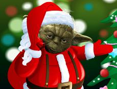 Yoda Decoreaza de Craciun