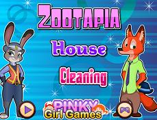 Zootopia Curatenie in Casa