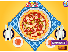 Lily Face Pizza