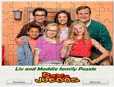 Puzzle Cu Familia Lui Liv Si Maddie