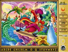 Gaseste Literele Ascunse Cu Peter Pan
