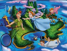 Peter Pan Gaseste Literele